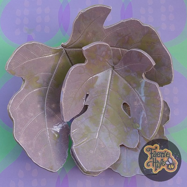 Celery Heather Fig Leaf Dish Se - olisny | ello