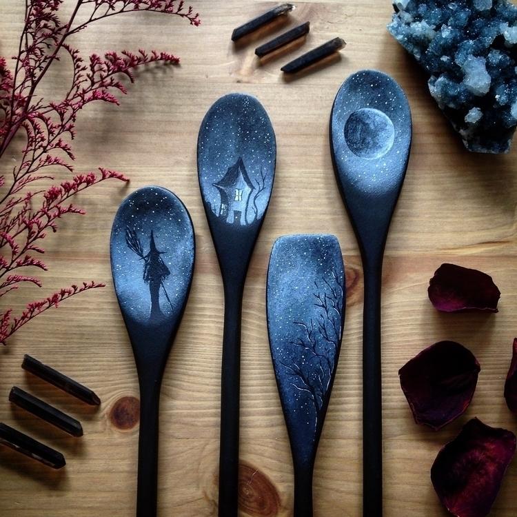 kitchen magic. 🖤 - kitchenwitch - everjupiter | ello