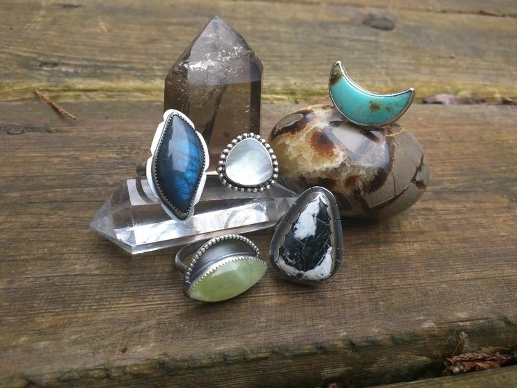 handmaderings, crystals, crystalhealing - gemspell | ello