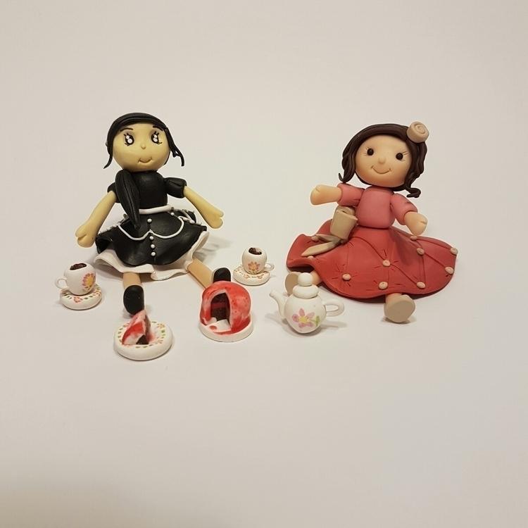 noticed girl tea parties learne - raynbowgarden | ello