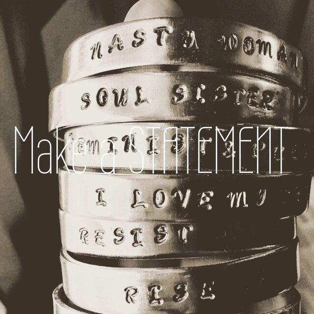 statement today cuff - custom, bracelet - elementalvibes | ello