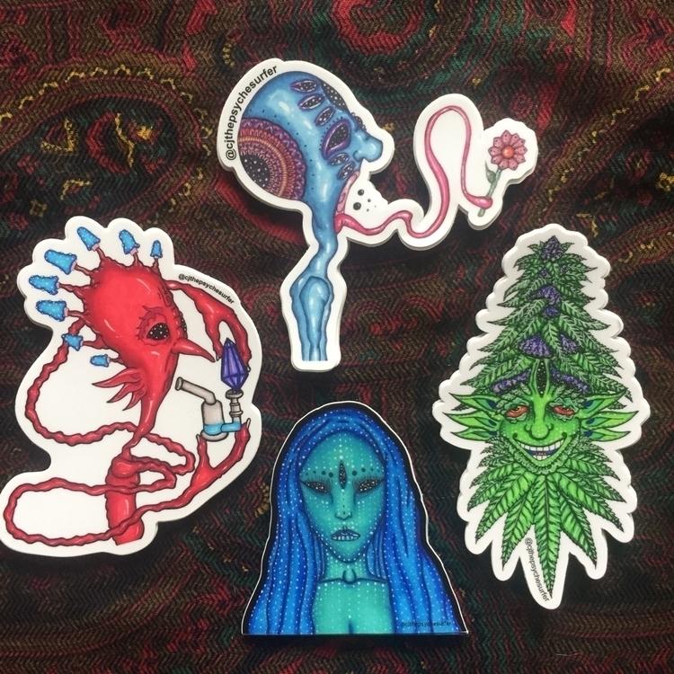 Loving fresh stickers turned et - cjthepsychesurfer | ello