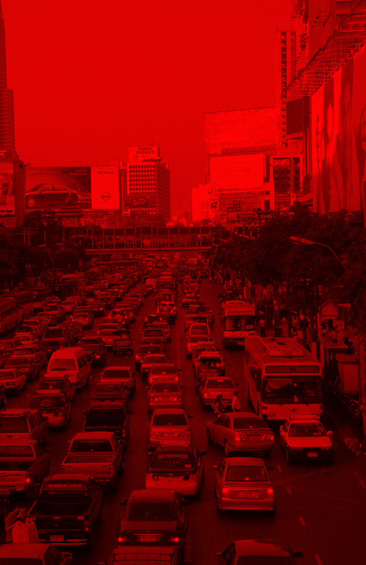 Rush Hour - Photography, Red, Buildings - marcomariosimonetti | ello