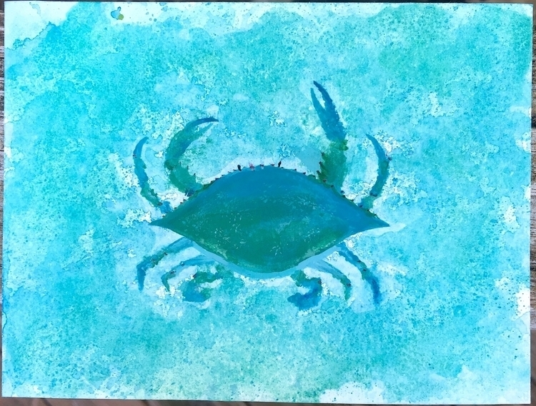 Blue Crab - ihtzjennifer | ello