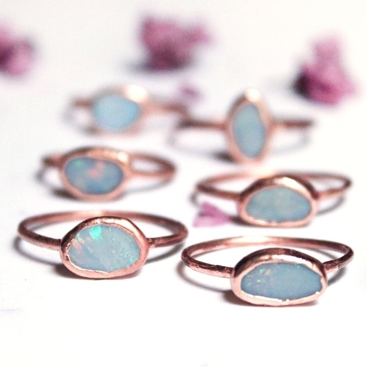 Opals absolute favorite stone!  - stoneandspirit | ello