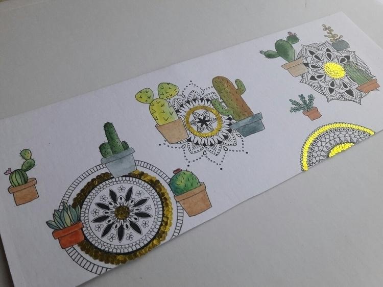 Illustration- cactuses mandalas - toinspireworld-bytriinun   ello