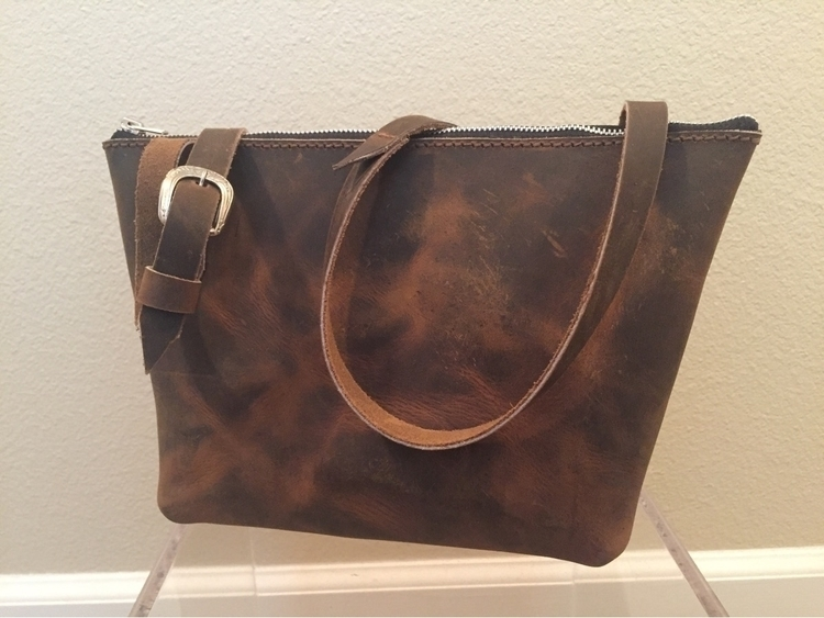 cross body purse Crazy Horse Br - twinflameleatherco | ello
