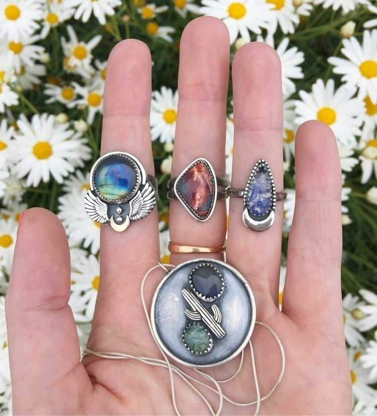 Newnesss!! finished yesterday - crystaljewelry - moonshinedivine | ello