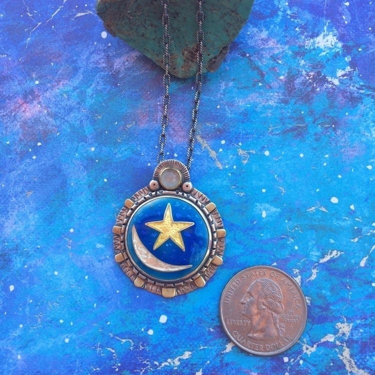 give sun, moon stars. Cloisonné - julieglassmanjewelry | ello