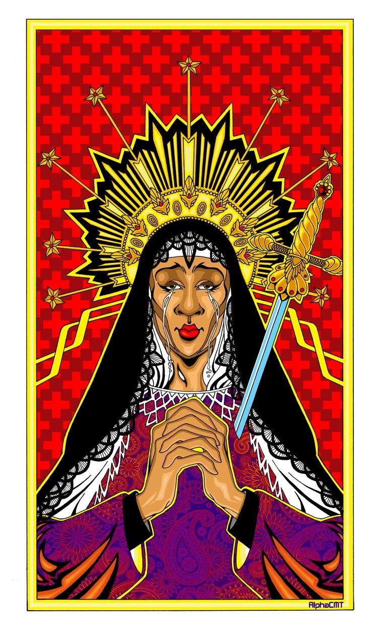 Virgen Santo Domingo Virgin Mer - alphacmt | ello