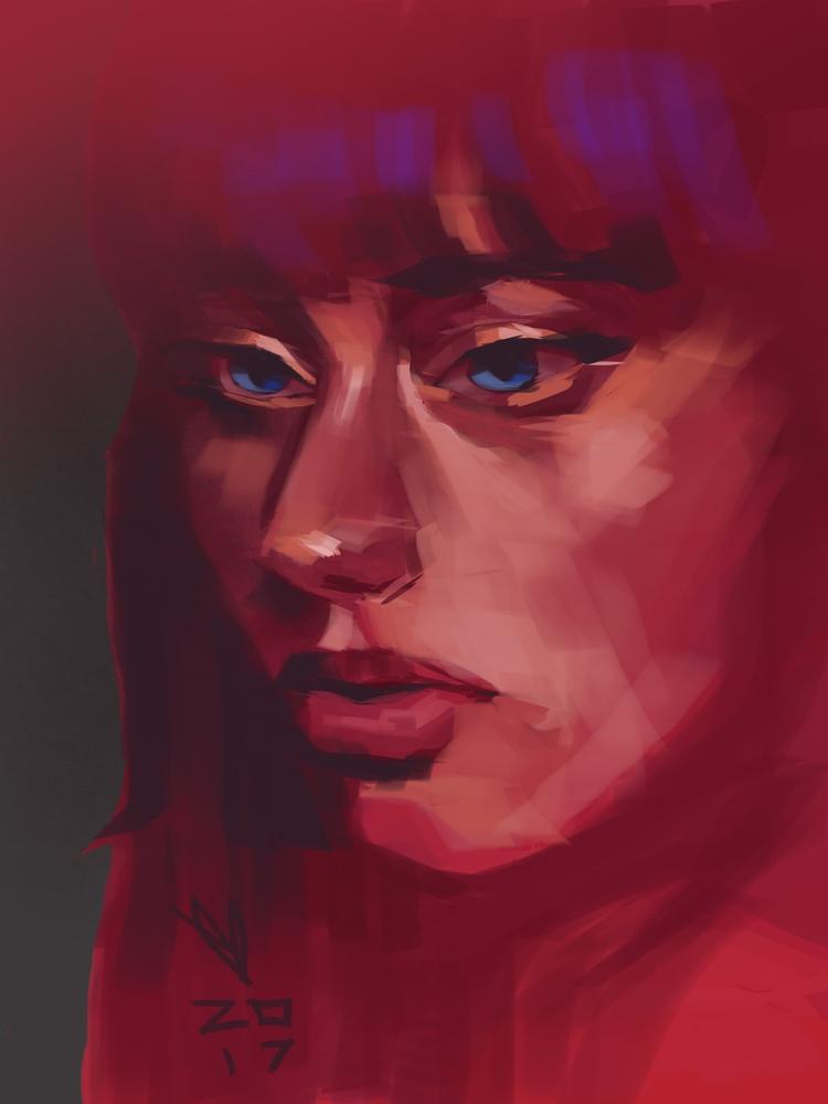 Lauren deGraaf - speedpaint, portrait - evandileo | ello