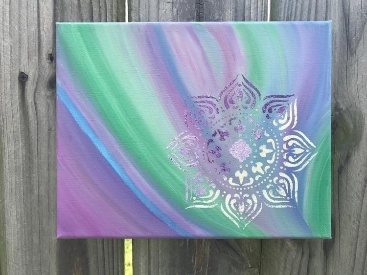 Spiritual Vibes energy art, 8x1 - sapphiremoonbeam | ello