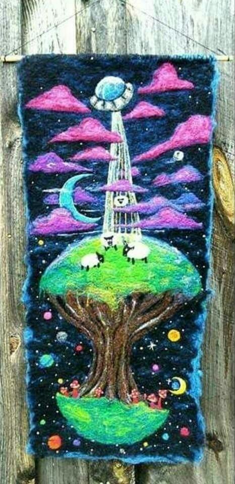 Sheeps Space sale Etsy - needlefelting - artbydevinashleigh | ello