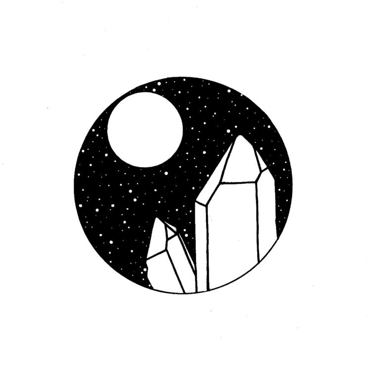 crystal vibes ♡ - moonflux_studio | ello