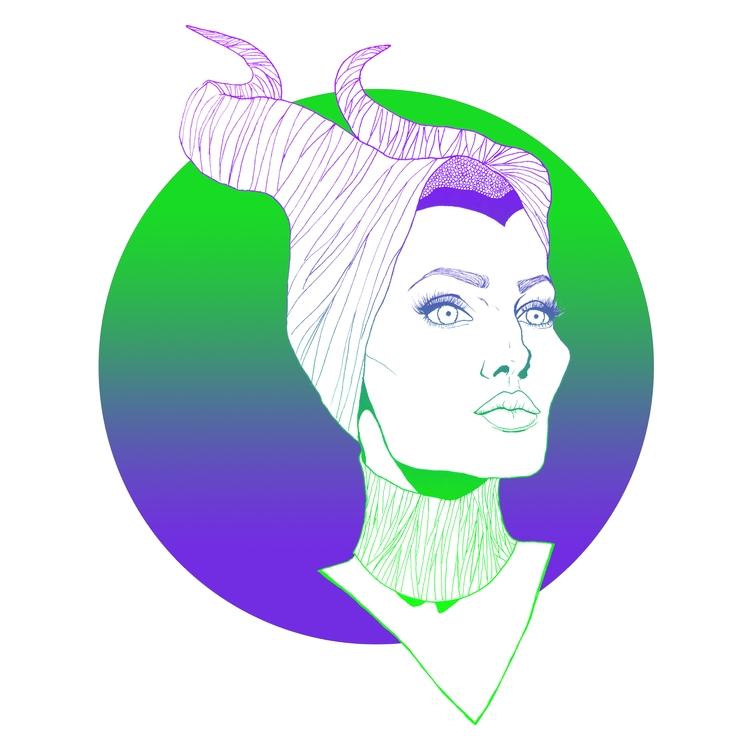 Maleficent, AngelineJolie, Green - azglynn | ello
