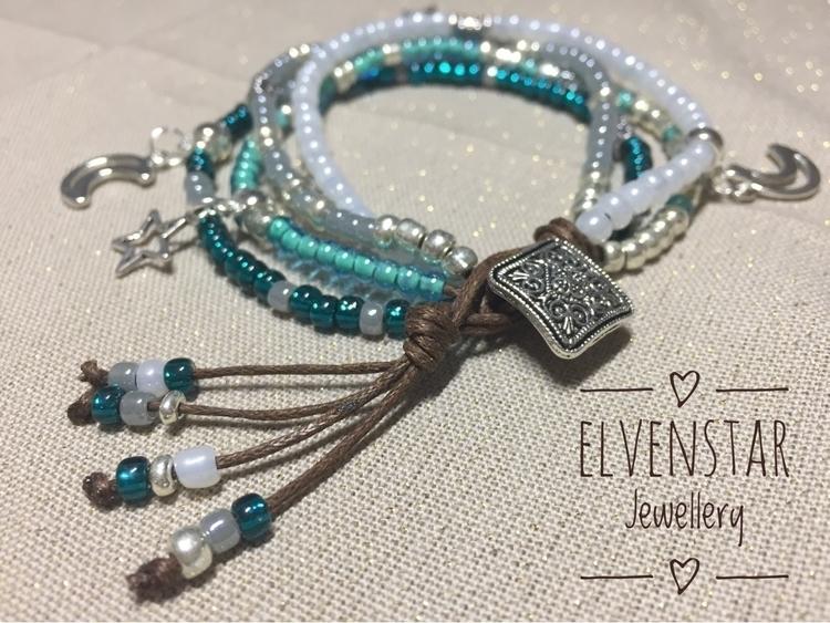 stunning bracelet seed beads ad - elvenstarjewellery | ello