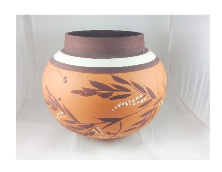 large terracotta pot - ateliercrafers | ello