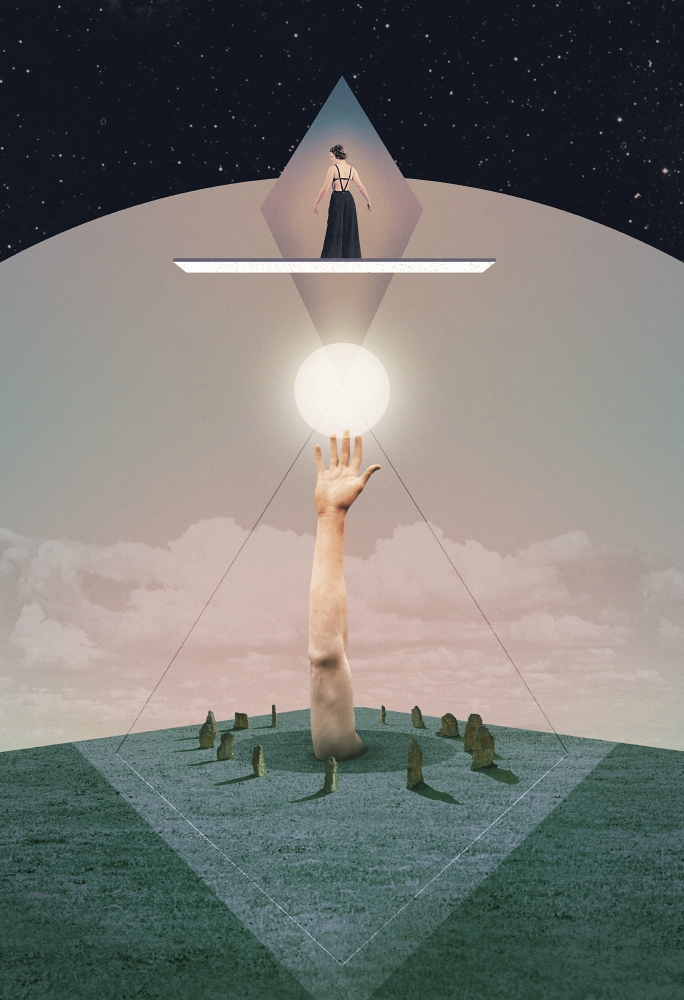 Achynumb (2017 - collage, digital - julienp | ello