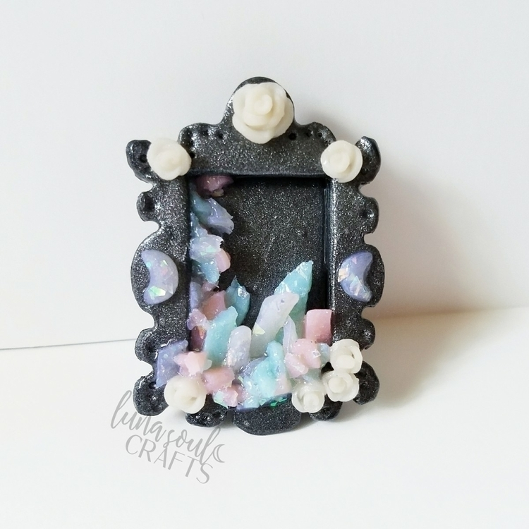small crystal shrine adorned ro - lunasoulcrafts | ello
