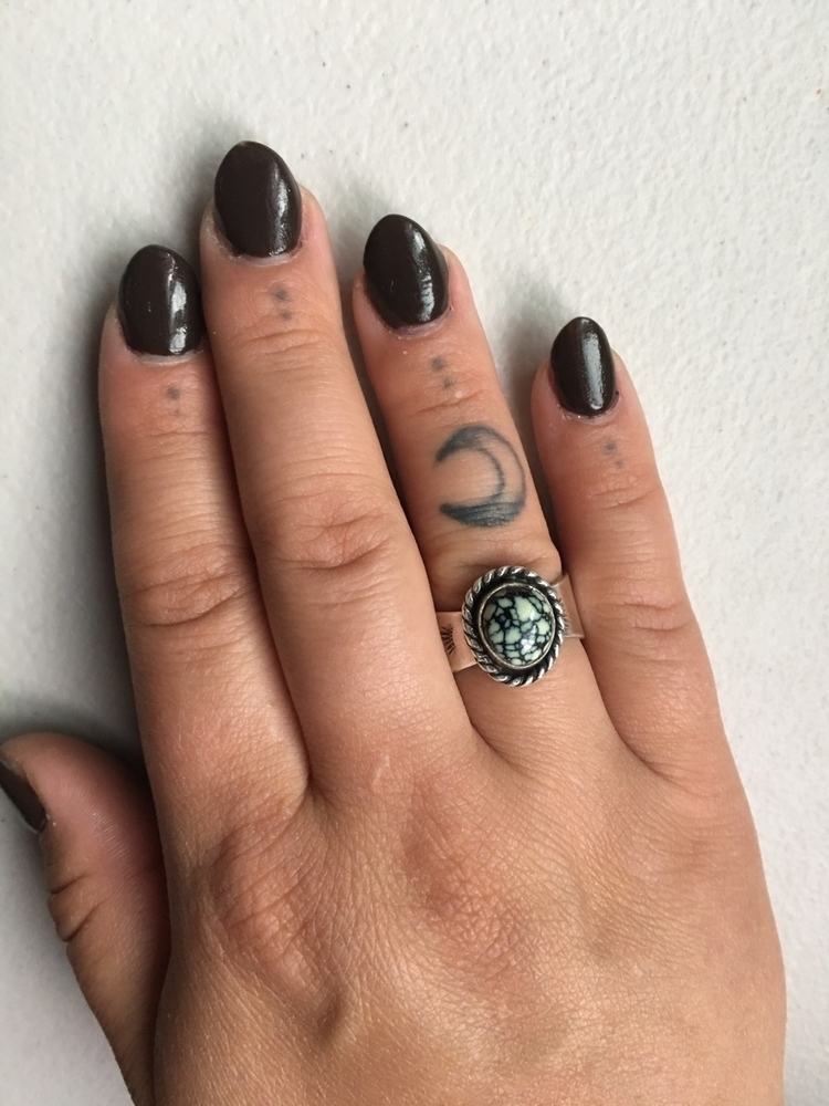 ello ~ ring finished yesterday - thistlesilverdesigns | ello
