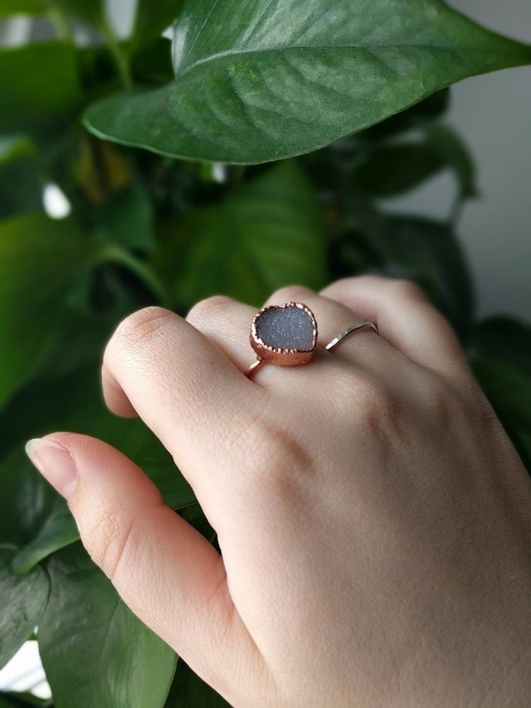 electroformed ring  - wildflowerrelic - wildflowerrelic | ello