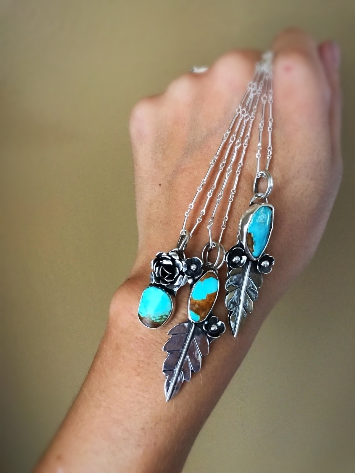 nature inspired pendants, tomor - schilverjewelry | ello