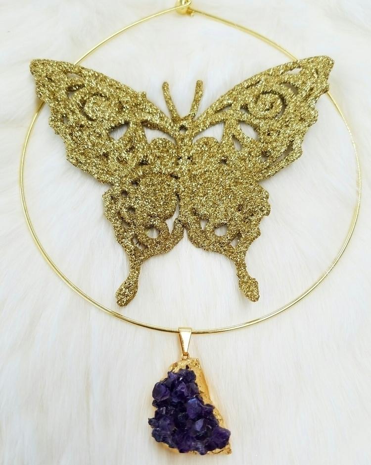 Summer jewels:purple_heart::gem - foxandfeldspar   ello
