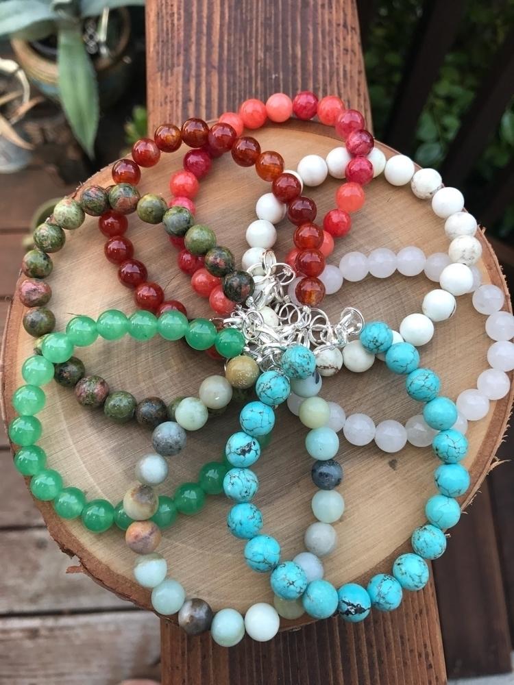 •|| Chakra Charm Bracelet ||• 8 - sugarcitygems | ello
