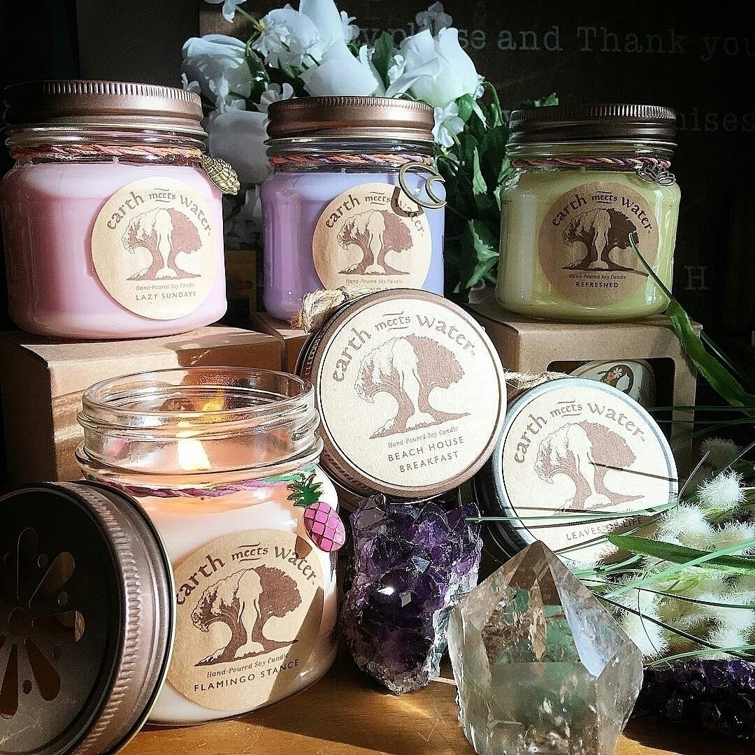 soycandles, relax, crystalvibes - earthmeetswater | ello