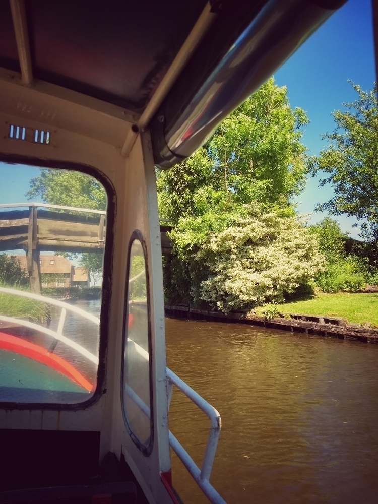 boat, canal, trip, spring, sun - claudio_g_c | ello