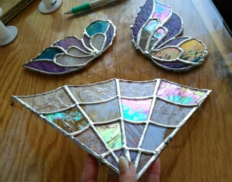 Glass butterfly wings whimsical - thesweetkarmabar | ello