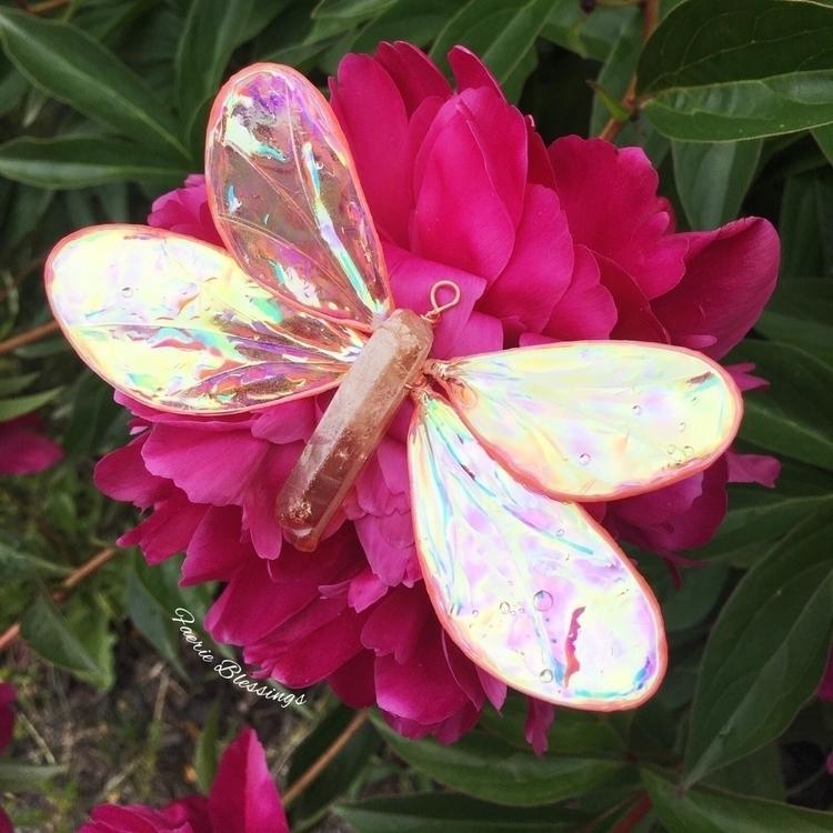 dragonfly lands freshly bloomed - faerieblessings   ello