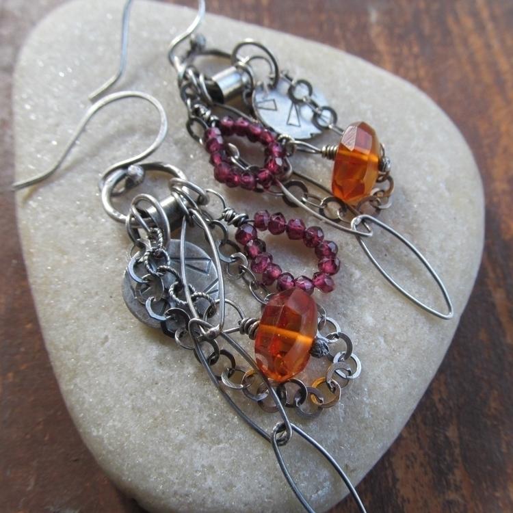 Boho charm earrings. Etsy shop - artdi | ello