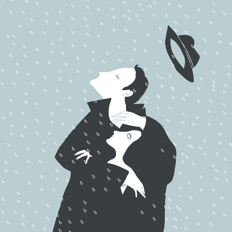 Eden - digitalillustration, rain - spoto   ello