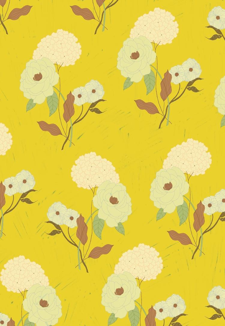 Floral Pattern - digitalillustration - spoto | ello