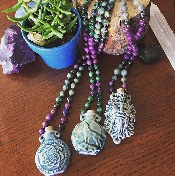 Sacred Devotional Necklaces [Et - everblueintuitive   ello