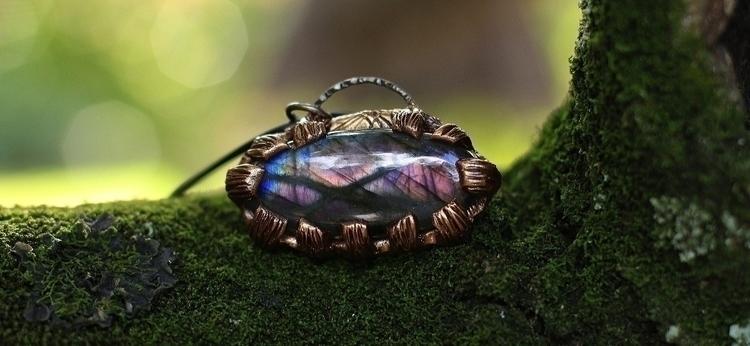 Purple Labradorite Magick :hear - denderalight   ello