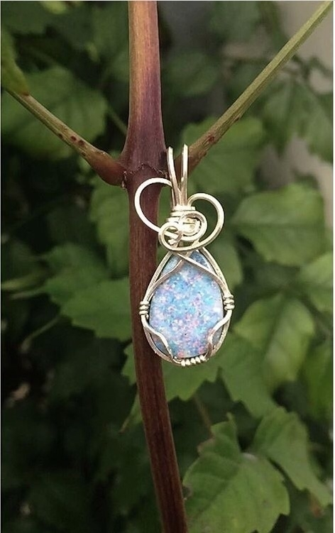 Throwback sweet Opal wrapped fr - greatcrystalearth | ello