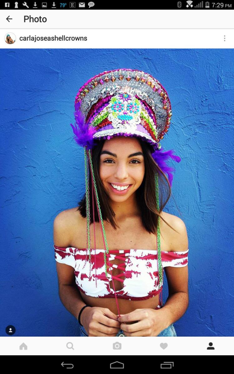 Festival Lucia rocking Sugar Sk - carlajoseashellcrowns | ello