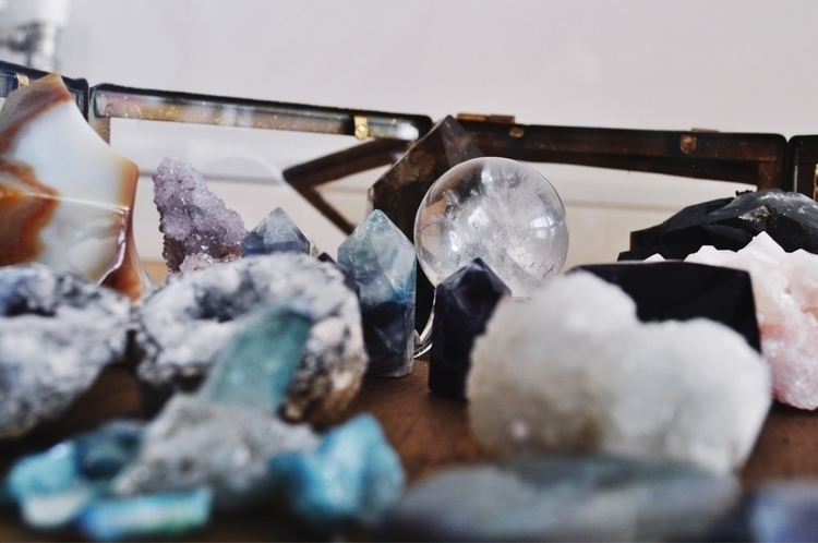 love sea crystals - witch - wanderinglunarwitch | ello