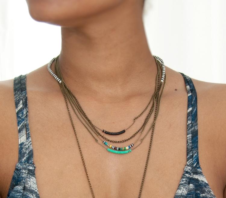 Minimalist layering necklaces - handmade - artayaloka | ello