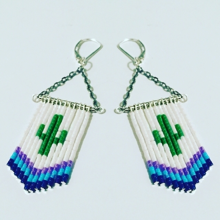 Put Cactus Dangles shop today - etsy - edenrainbeadworks | ello
