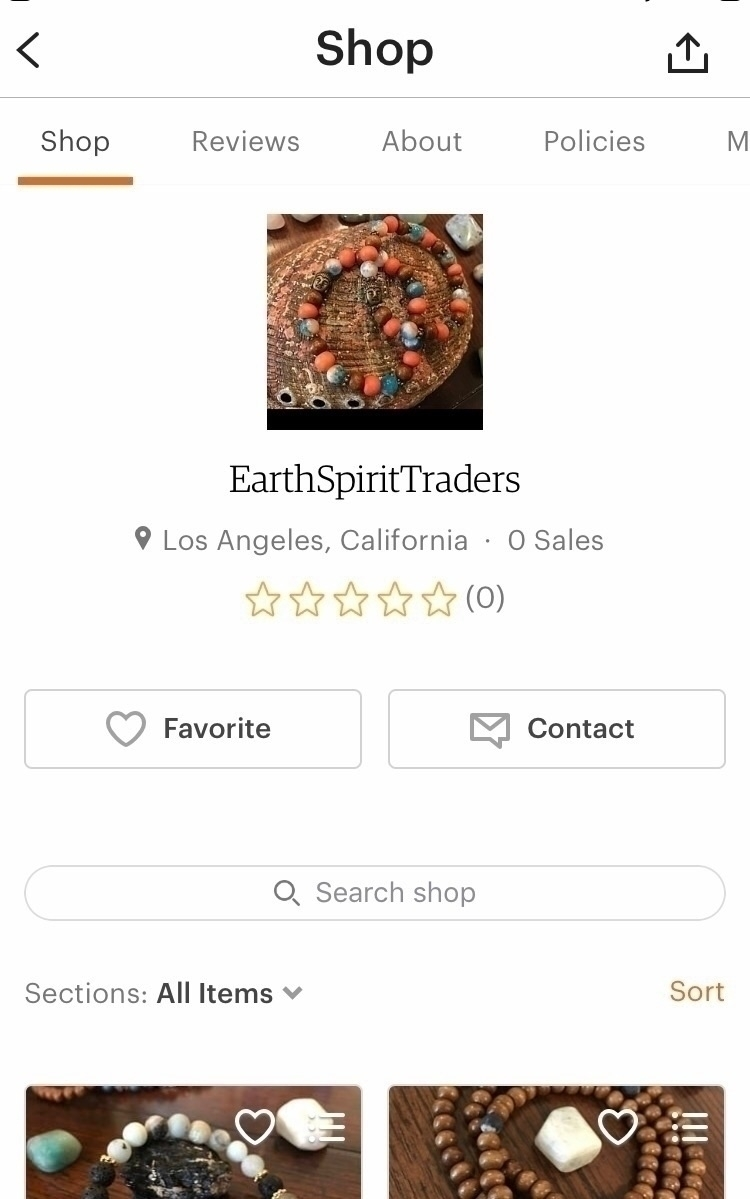 launched! items added weekend.  - earthandspirittraders | ello