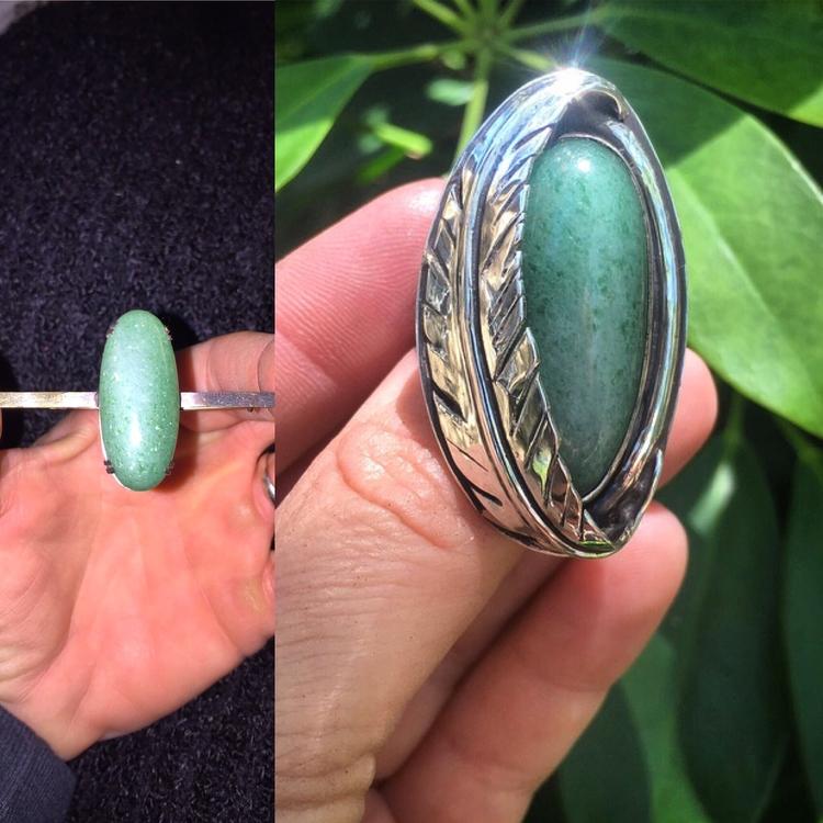 client piece jewelry wore loved - lunaseestudios   ello