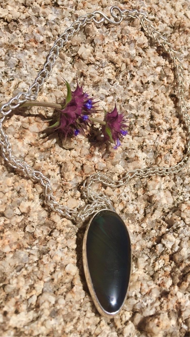 Front necklace. Hand loop chain - east_kaleidoscope_way | ello