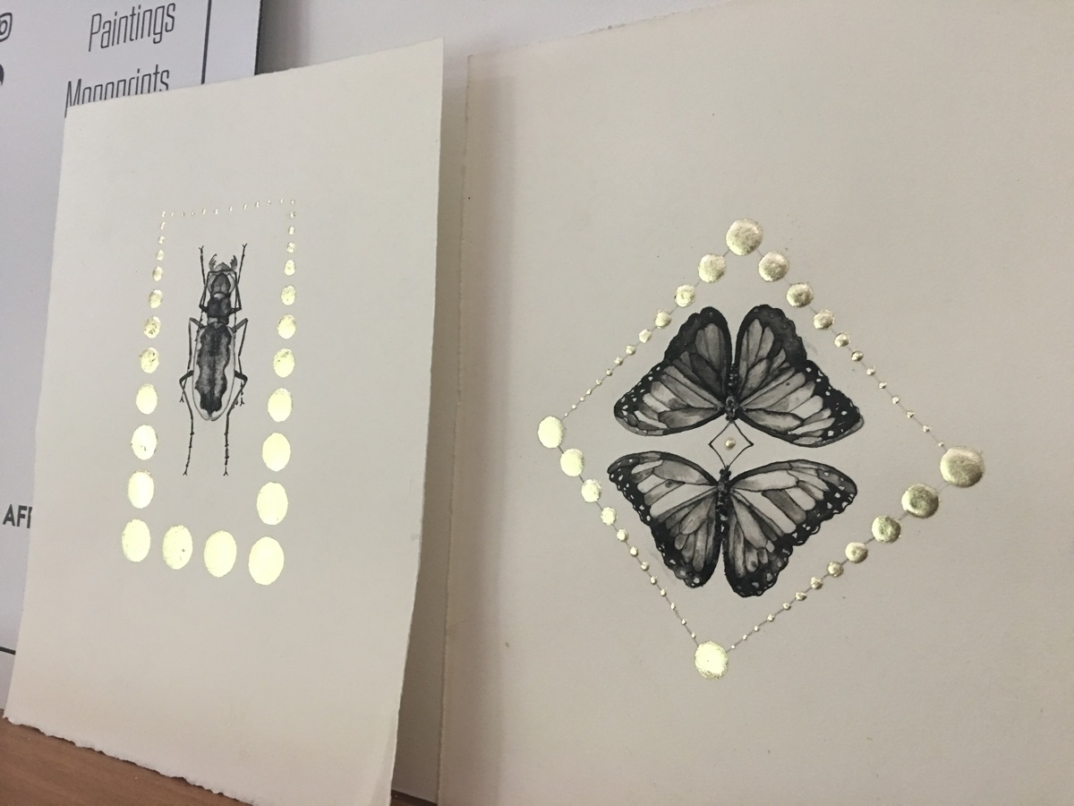 clean frame couple days - butterfly - alexakarabin | ello