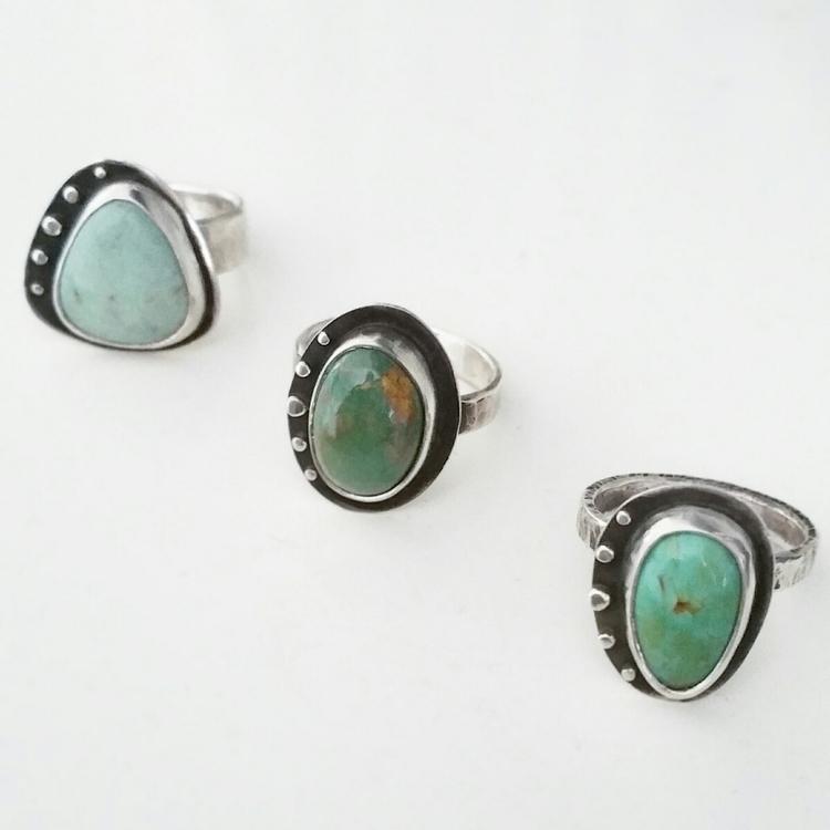 Turquoise rings finger - abellablue | ello