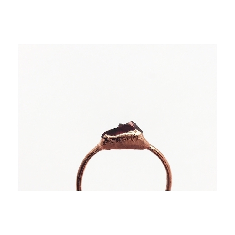 kind garnet rings, limited quan - phasecollection | ello