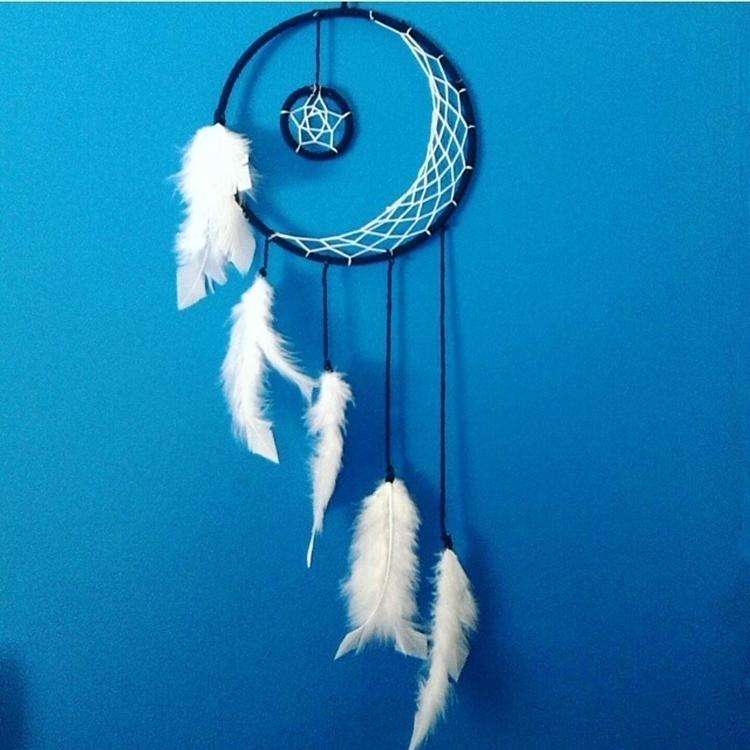 Crescent Moon Dreamer pick colo - theoceanbohemian | ello