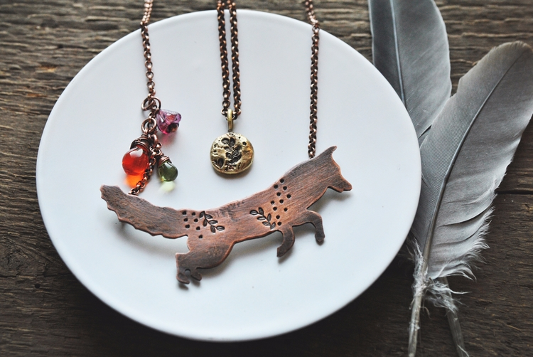 Foxy Lady - handmadejewelry, twistedjewelry - twistedjewelry | ello